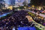 Giới nhân viên y tế Hồng Kông mít tinh chống bạo lực ngày 26/10
