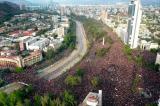 Một triệu người biểu tình hình thành 'cuộc tuần hành lớn nhất' Chile