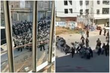 Trung Quốc: Biểu tình tại Quảng Đông bị hàng ngàn cảnh sát dùng hơi cay đàn áp