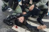 Tập hợp được 1400 trường hợp cảnh sát Hồng Kông lạm dụng bạo lực