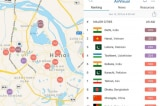 """Sáng 12/11: Ô nhiễm không khí tại Hà Nội lên mức """"nguy hại"""""""