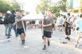Quân đội đồn trú của Bắc Kinh ra dọn dẹp đường phố Hồng Kông
