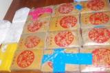Hàng chục bánh heroin in chữ Trung Quốc trôi dạt vào biển Quảng Nam