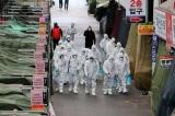 Hàn Quốc: 602 ca nhiễm COVID-19, 5 người chết, nâng mức cảnh báo cao nhất