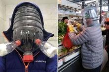 Những ý tưởng khẩu trang sáng tạo chống virus corona ở Trung Quốc (Ảnh)