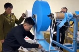 Phát hiện cơ sở sản xuất khẩu trang kháng khuẩn từ … giấy vệ sinh