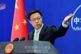 Triệu Lập Kiên: Mỹ đang muốn đổ lỗi và bôi nhọ Bắc Kinh qua WHO