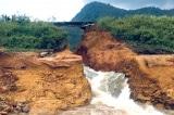 Phú Thọ: Đập chứa khoảng 600.000 m3 nước bị vỡ