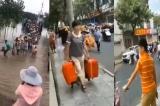 Người dân 5 thành phố ven sông của tỉnh An Huy di tản tránh lũ