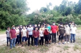 33 người Việt nhập cảnh trái phép từ Trung Quốc bị bắt giữ