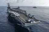 Mỹ điều hai tàu sân bay tới Biển Đông trong lúc Trung Quốc tập trận