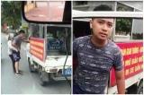 Cảnh cáo công an phường mặc quần đùi đi thu hàng rong, giằng co với dân